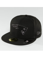 New Era Fitted Cap Black Graphite New England Patriots 59Fifty zwart
