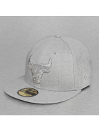 New Era Fitted NBA Heather Chicago Bulls 59Fifty gris