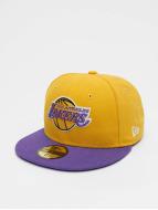 New Era Fitted NBA Basic LA Lakers 59Fifty jaune