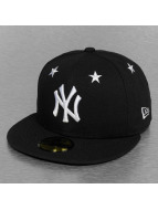 New Era Fitted MLB NY Yankees Star Crown noir
