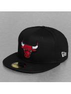 New Era Fitted Black Base Chicago Bulls noir