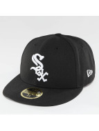 New Era Fitted Authentic Performance Low Crown Chicago White Sox noir
