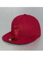 New Era Fitted NBA Tonal Miami Heat rouge