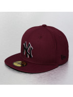 New Era Fitted NY Yankees rouge