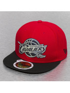 New Era Fitted Team Chrome Cleveland Cavaliers rouge