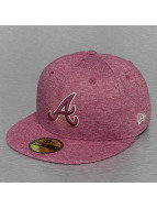 New Era Fitted MLB Atlanta Braves Jersey rouge