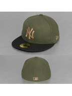 New Era Fitted MLB Heather Contrast NY Yankees 59Fifty vert