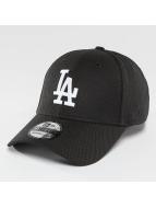 New Era Flexfitted Cap MLB Diamond Essential LA Dodgers èierna