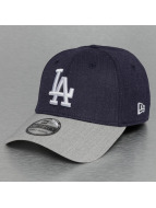 New Era Flexfitted Cap MLB Heather Visor LA Dodgers 39Thirty blau