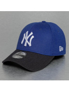 New Era Flexfitted Cap MLB Heather Visor NY Yankees 39Thirty blau