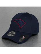 New Era Flexfitted Cap NFL New England Patriots Mesh Outline blau