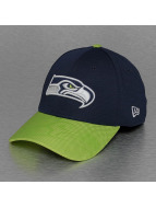 New Era Flexfitted Cap NFL Seattle Seahawks Sideline blau