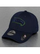 New Era Flexfitted Cap NFL Seattle Seahawks Mesh Outline blauw