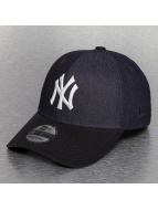 New Era Flexfitted Cap Team Stretch Canvas NY Yankees blue