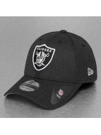 New Era Flexfitted Cap Heather Team Oakland Raiders 39Thirty czarny