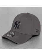 New Era Flexfitted Cap NY Yankees grau