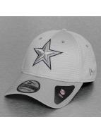 New Era Flexfitted Cap NFL Dallas Cowboys Mesh Outline grau