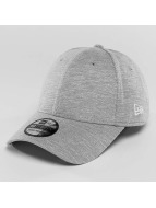 New Era Flexfitted Cap Jersey Stretch grau