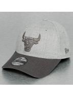 New Era Flexfitted Cap NBA Heather Chicago Bulls 39Thirty gray