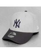 New Era Flexfitted Cap Diamond Team NY Yankees Reverse grey