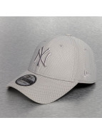 New Era Flexfitted Cap Diamond Era Stretch NY Yankees grey
