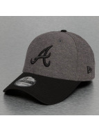 New Era Flexfitted Cap Jersey Contrast Atlanta Braves 39Thirty grijs