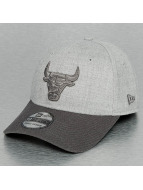 New Era Flexfitted Cap NBA Heather Chicago Bulls 39Thirty grijs