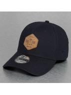 New Era Flexfitted Cap Stretch Hex Canvas 39Thirty modrá