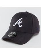 New Era Flexfitted Cap MLB Diamond Essential Atlanta Braves 39Thirty modrá