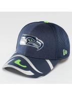 New Era Flexfitted Cap NFL Offical On Stage Seattle Seahawks modrá