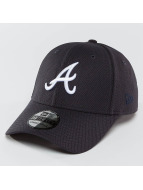 New Era Flexfitted Cap MLB Diamond Essential Atlanta Braves 39Thirty niebieski