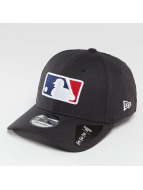 New Era Flexfitted Cap League Logo Stretch MLB 39Thirty niebieski