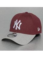 New Era Flexfitted Cap MLB Heather Visor NY Yankees 9Fifty rot