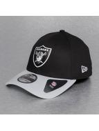 New Era Flexfitted Cap Team Oakland Raiders Weld schwarz