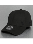 New Era Flexfitted Cap MLB Flawless Matte NY Yankees 39Thirty schwarz