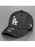 New Era Flexfitted Cap Team Sports Jersey LA Dodgers schwarz