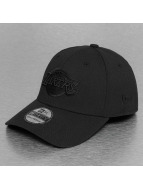 New Era Flexfitted Cap NBA Black On Black LA Lakers 39Thirty schwarz