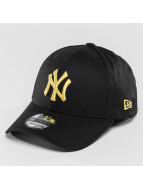 New Era Flexfitted Cap League Essential NY Yankees 39Thirty schwarz
