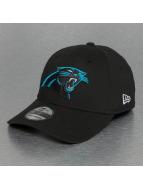 New Era Flexfitted Cap Emea Carolina Panthers zwart