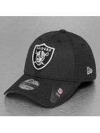 New Era Flexfitted Cap Heather Team Oakland Raiders 39Thirty zwart
