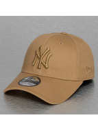 New Era Flexfitted Capler Tonal League Essential NY Yankees 39Thirty kahverengi