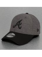 New Era Flexfitted Jersey Contrast Atlanta Braves 39Thirty gris