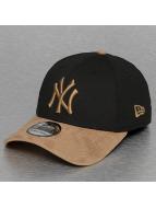 New Era Flexfitted kepsar Poly Suede Mix NY Yankees svart