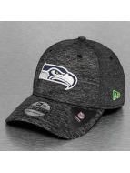 New Era Flexfitted-lippikset Team Sports Jersey Seattle Seahawks musta