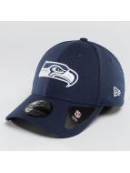 New Era Flexfitted-lippikset Team Essential Stretch Seattle Seahawks sininen