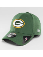 New Era Flexfitted-lippikset Team Essential Stretch Green Bay Packers vihreä