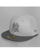 New Era Gorra plana Diamond Basic New York Yankees gris
