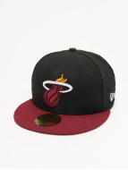 New Era Gorra plana NBA Basic Miami Heat 59Fifty negro