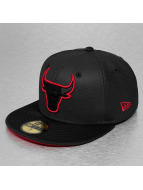 New Era Gorra plana Diamond Era Prene Chicago Bulls negro