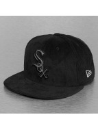 New Era Gorra plana Cord Front Chicago White Sox negro